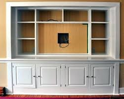 Media Room Built In Cabinet Related To Cabinets Wall