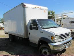 2002 Ford E550 Box Truck | Item A8477 | SOLD! Wednesday Octo... 2017 Ford E350 Xl 16 Van Body For Sale 950 Miles Fort Worth Tx Van Trucks Box In Texas Used On 2005 F750 Truck For Sale Pinterest Vehicles 1991 F800 Truckjpg Where Can I Buy The 2016 F650 Medium Duty Truck Near New Equipment Archives Eastern Wrecker Sales Inc F550 Ladder Racks Boxes Caps Super Duty F250 Srw 4wd Reg Cab 8 Regular Stock 756 1997 E450 15 Foot Box 101k Miles For Sale Sd