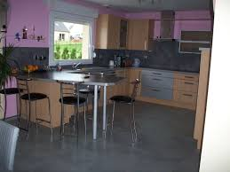 couleur pour cuisine cuisine noir quel couleur mur chaios com