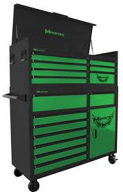 100 Service Truck Tool Drawers Monster 56 Box TwoPiece Combo In Storage