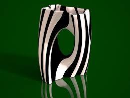 3D Printed Julia Vase 002