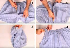 Cut Your Old Boxer Shorts