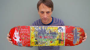 Tony Hawk Signed Skate Deck by Tony Hawk Taps Paul Mccartney Tom Petty For Skatepark Benefit