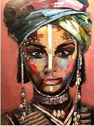 elafi poster din a3 boho deko dekoration fürs wohnzimmer oder büro dekoposter geschenk kunstdruck ethno stil afrika frauenportrait