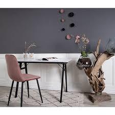 2x esszimmerstuhl story rosa schwarz stuhlset stühle esszimmer küchenstuhl stuhl
