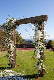 A Summer Country Club Wedding In Santa Barbara California Rustic ArchesWoods