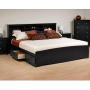 King Size Platform Bed With Headboard by King Platform Beds