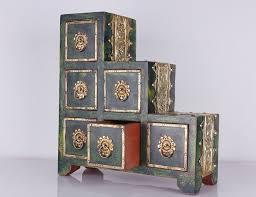 boite a tiroirs en bois boite boutique nomade