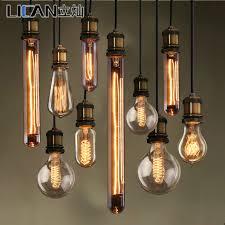 creative ikea edison chandelier l bulb braided wire carbon