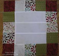 For Your Center Block You Will Need A 65 Square Of White Fabric Sew The 25 Blocks Around Outside To Create Border