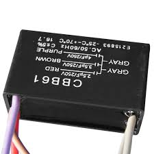 Cbb61 Ceiling Fan Capacitor 2 Wire by 1pc Small Stable Cbb61 Capacitor 2 5uf 3 5uf 4uf 5 Wires