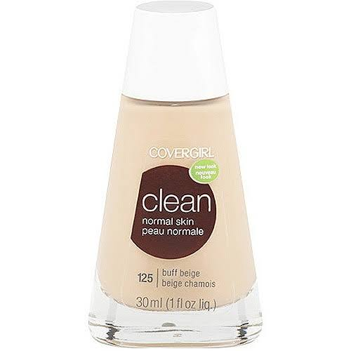 Covergirl Clean Normal Skin Liquid Foundation - 120 Creamy Natural, 1oz