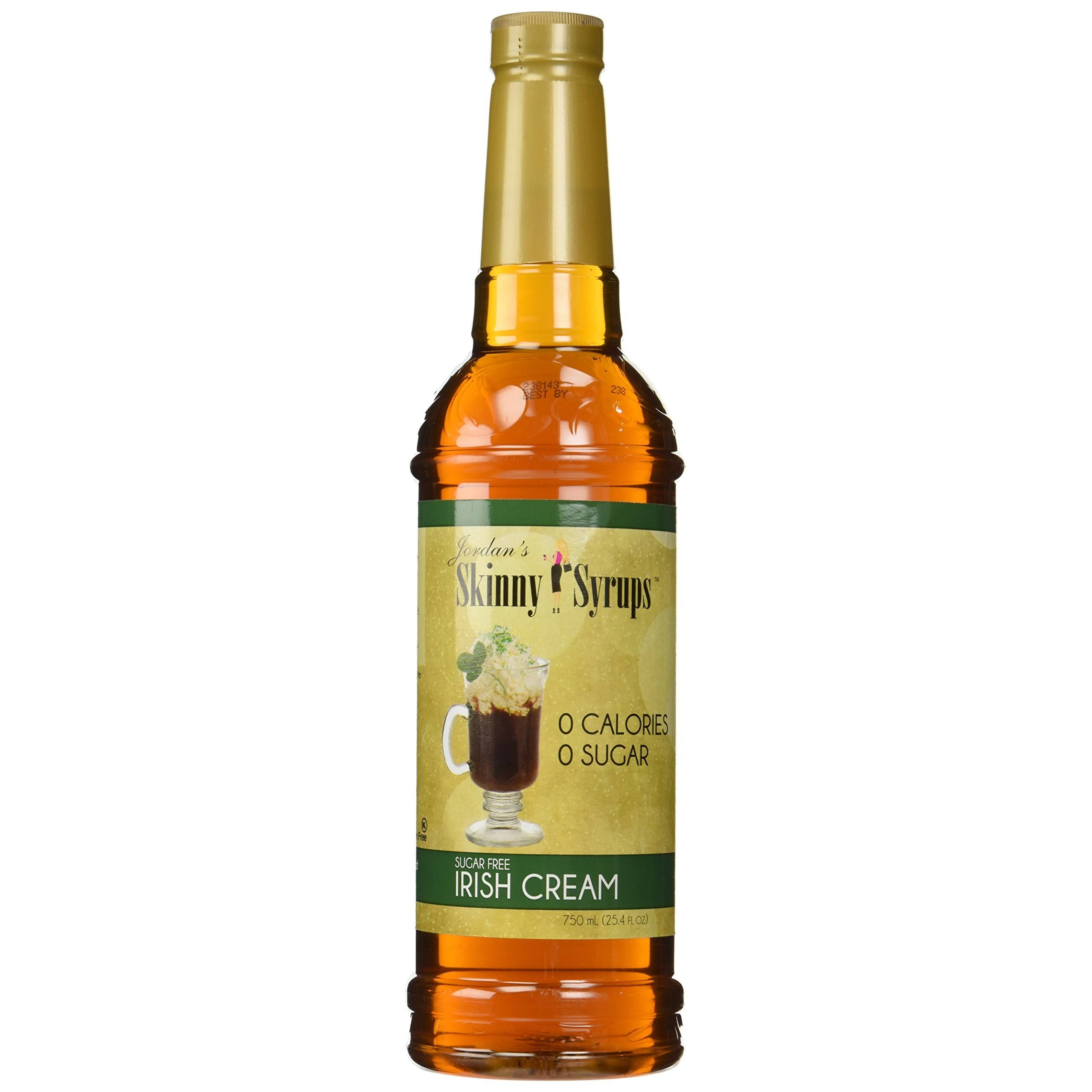 Jordan's Skinny Syrups - Sugar-Free, Irish Cream, 25.4oz