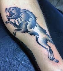 Tribal Woof Tattoos Men