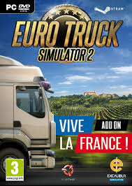 100 Euro Truck Simulator 2 Key EURO TRUCK SIMULATOR VIVE LA FRANCE ADD ON PC CD KEY ONLY