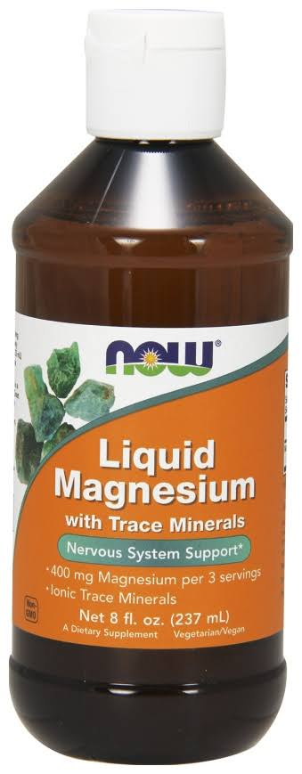 Now Foods Liquid Magnesium with Trace Mineral