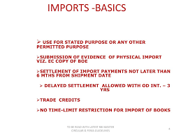 3 IMPORTS IMPORT FINANCE & TRADE CREDITS ppt