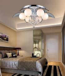 Simple Ideas Led Lotus K9 Crystal Chandeliers Bedroom Living Room Dining Modern Fashion Round Ceiling Decorations