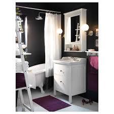 hemnes rättviken wash stand with 2 drawers white runskär