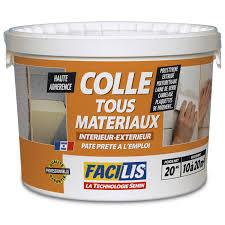 colle pour matériaux isolants facilis 20 kg leroy merlin