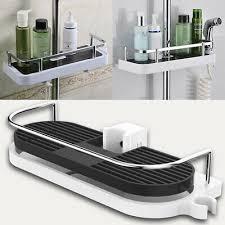 badezimmer poliger ablagefach dusche regel organzier tablett