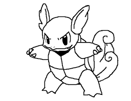 Holiday Coloring Online Pokemon Squirtle Pages At