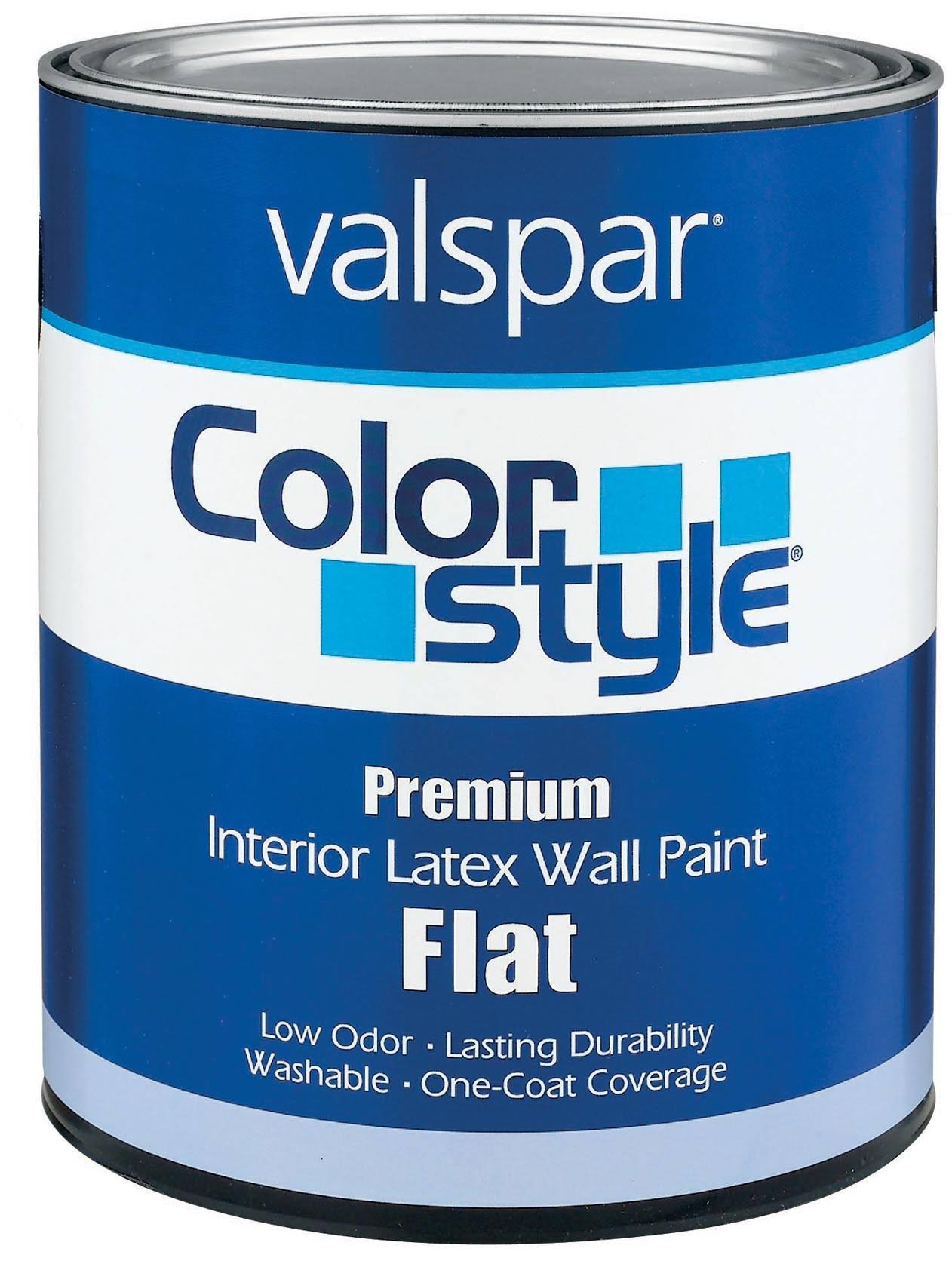 Valspar 1 qt Pastel Base ColorStyle Interior Latex Flat Wall Paint