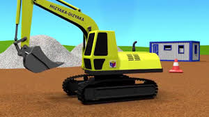 Cartoons For Children About Cars. Construction Game. Crawler ...