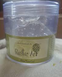 Rustic Art Aloe Vera Gelproduct Review