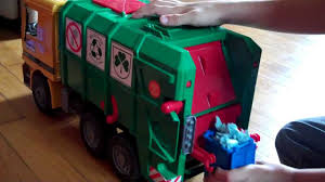 Phillips Bruder Toy Garbage Truck Video 3 - YouTube