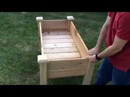 gronomics elevated garden bed regb 24 48 youtube