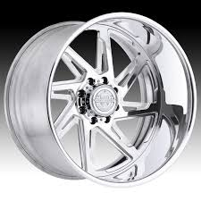 100 Centerline Truck Wheels Forged F80P Polished Custom Rims LT