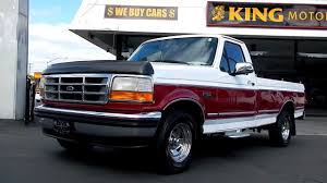 1995 Ford F 150 5.8 V8 1 Owner CLEAN! 1/2 Ton Pickp Truck For Sale ... 1995 Ford F150 Reviews And Rating Motortrend 4x4 Totally Bed Liner Paint Job 4 Lift Custom Lighting Questions Is A 49l Straight 6 Strong Motor In The Two Toned Flareside Black Red Bashline Regular Cab Specs Photos Modification Info Gaa Classic Cars Xlt Pickup Truck Item C4338 Sold April 1 E350 Ambulance Used Truck Details Junkyard Tasure Tauruschero Pickup Autoweek Ford Trucks Ricks 95 F150 Xl Line