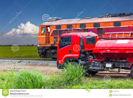 100 Trains Vs Trucks Truck Fire On A Passing Train Stock Image Image Of Firetruck
