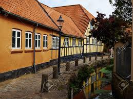 100 Small Beautiful Houses Typical Small Beautiful Street With Old Traditional Danish Style