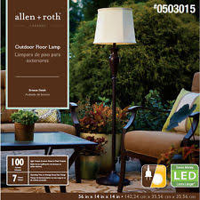 Allen Roth Torchiere Floor Lamp allen roth bronze floor lamps ebay