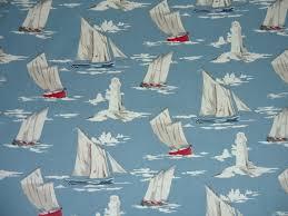 clarke clarke maritime skipper marine f0409 01 cotton fabric