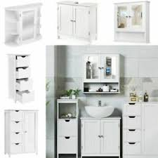 details zu badschrank beistellschrank spiegelschrank badezimmer schrank kommode 5 modell