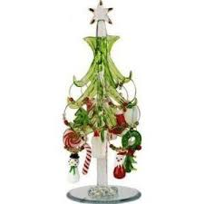 Mini Crystal Christmas Tree With 12 Wine Charm Ornaments By LSArts Inc 2900 Would Make A Great Holiday Gift For Home Or