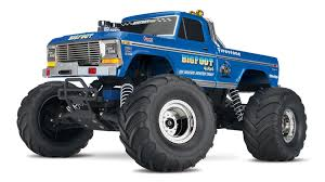 Traxxas BIGFOOT Edition 30 MPH Remote Control Monster Truck 36034-1 ...