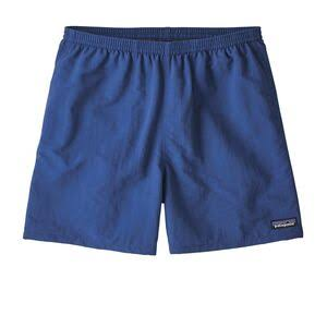 "Patagonia 57021 Mens Baggies Shorts - 5"", Superior Blue, X-Large"