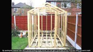 8 x 10 shed plans youtube fair 8 8 alovejourney me