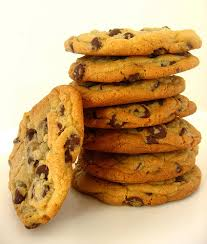 Chocolate Chip Cookie Tower by PoptartsAre yy