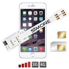 WX Twin 6 Adapter Dual SIM für iPhone 6 Doppel SIM karten mit