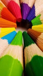 Colorful Crayons Samsung Galaxy S3 Wallpaper