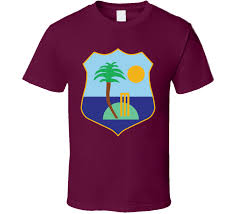 West Indies Cricket Flag T Shirt