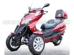 Gas 3 Wheeler Trike Scooter