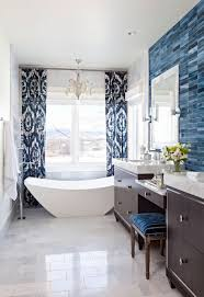 Decorating Ideas For Blue-and-White Bathrooms | Traditional Home Bathroom Inspiration Idea Diy Decor Ideas Have You Made For Simple And Elegant Bath Decorating Rustic Wall 17 Modern Bathroom Decorating Ideas 15 Victorian Plumbing 31 Cheap Tricks For Making Your The Best Room In House Extraordinary Powder Spa Pictures Collect This Pullouts Relaxing Flowers That Will Refresh 21 Small Fniture Apartment On A Budget Amazing Country Outhouse