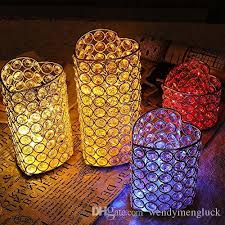 Heart Tealight Holders Candle Lantern Stand Dining Table Centerpieces Housewarming Birthday Wedding Gift Flower Arrangement Containter Fireplace