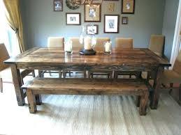 Farmhouse Style Dining Room Table Minimalist Modern Tables Mini Plans Dinin